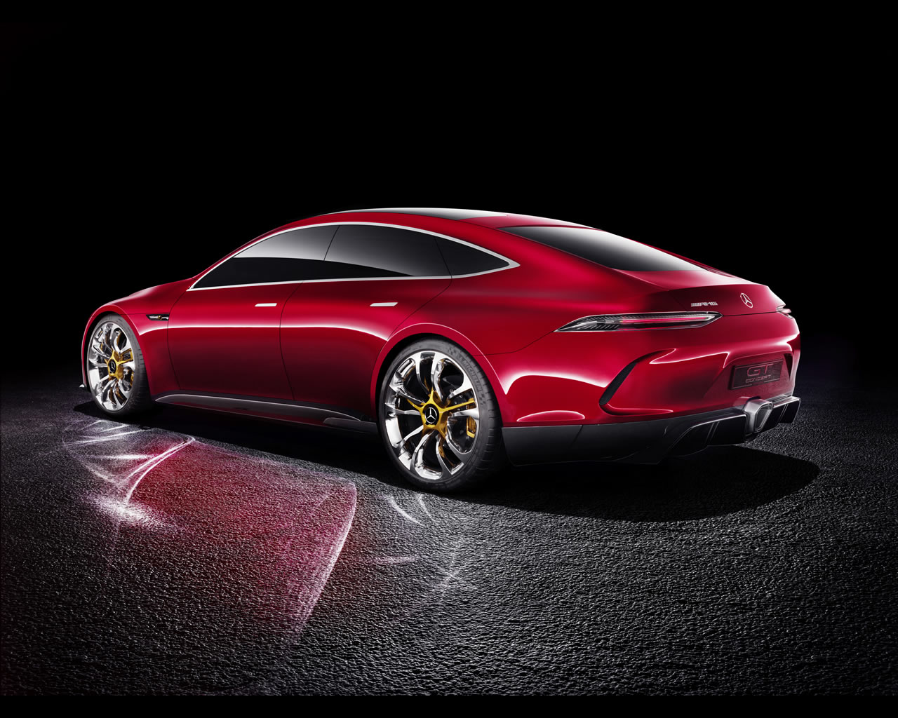Mercedes benz amg gt hybrid concept 2017 for Mercedes benz hybrid cars