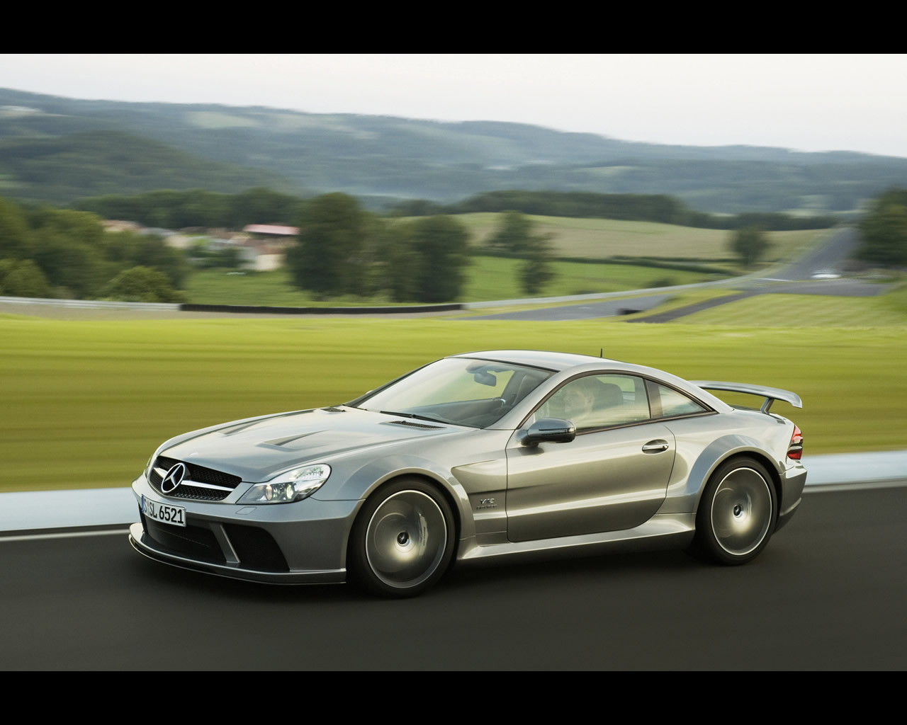 Mercedes benz amg sl65 black series for Mercedes benz series