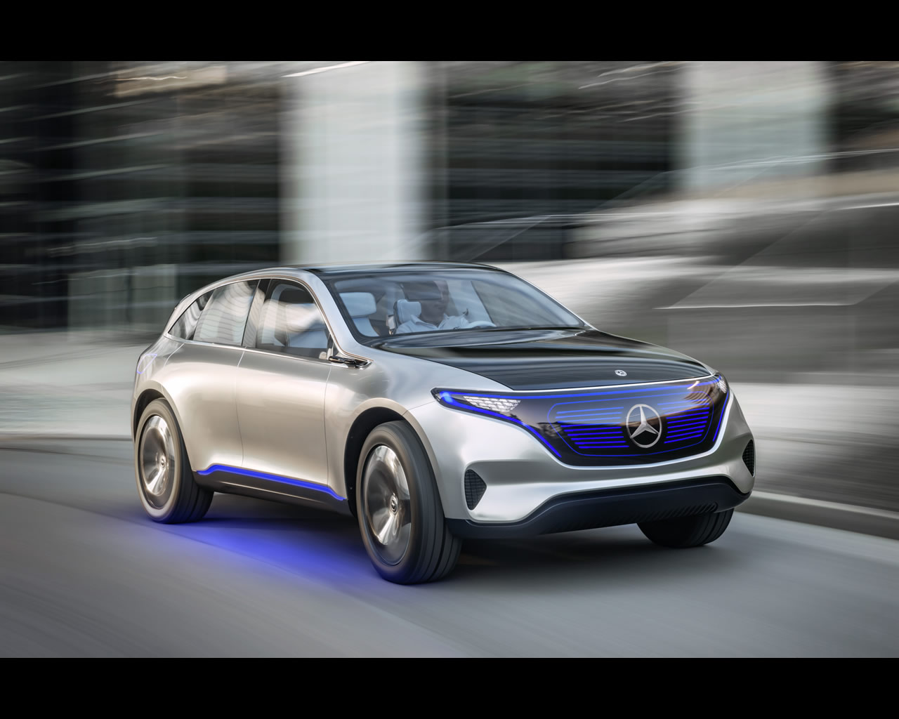Mercedes benz eq pure electric suv coup concept 2016 for Mercedes benz suv coupe