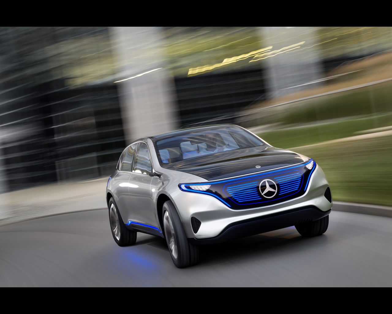 Mercedes benz eq pure electric suv coup concept 2016 for Mercedes benz concept electric car