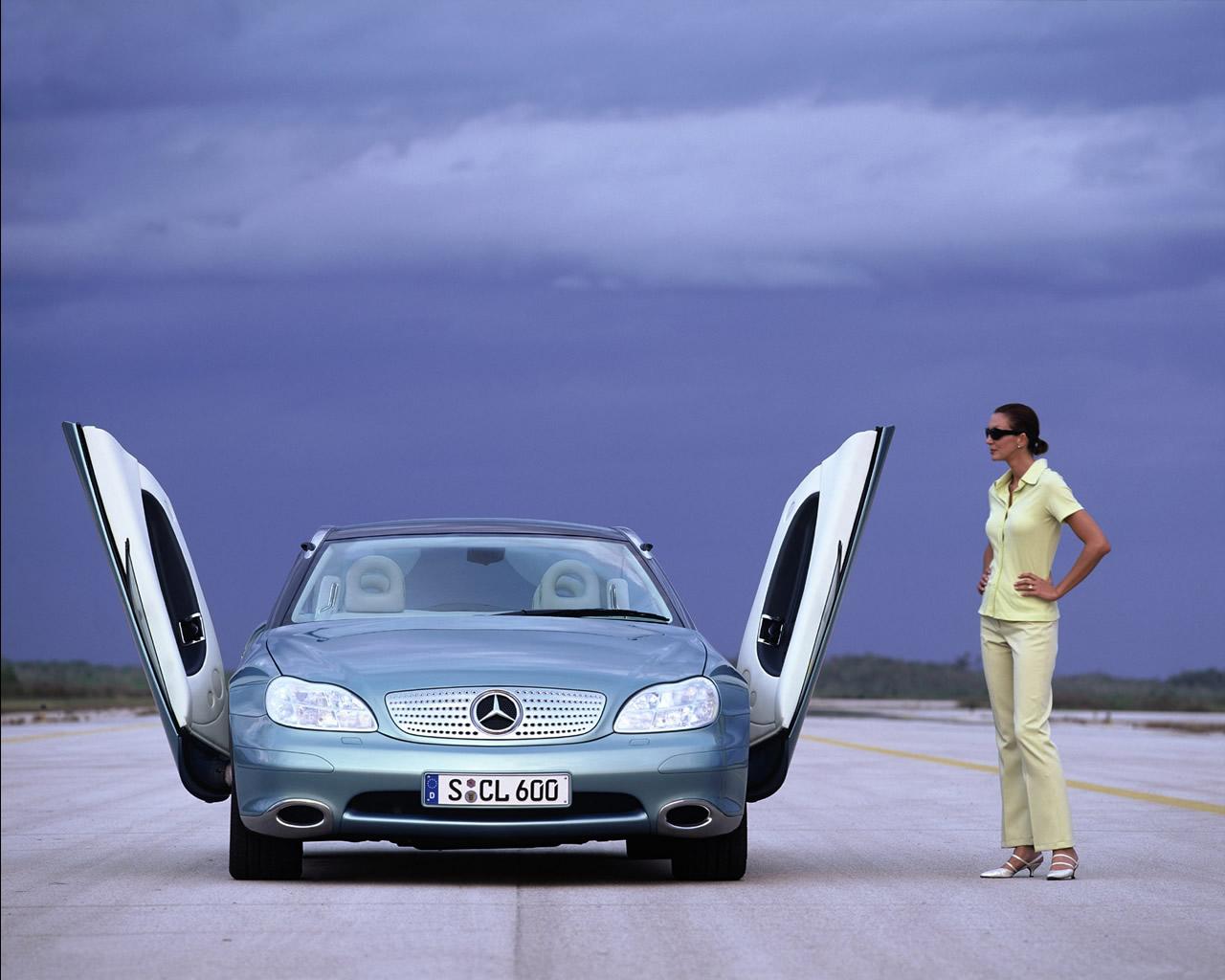 Mercedes F200 Imagination Concept Car 1996
