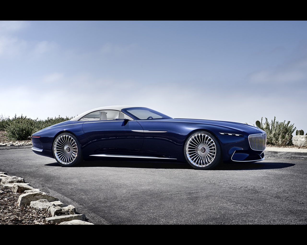 Mercedes maybach electric vision 6 cabriolet concept 2017 for Maybach 6 cabriolet