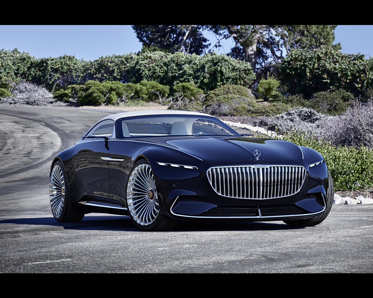 mercedes maybach electric vision 6 cabriolet concept 2017. Black Bedroom Furniture Sets. Home Design Ideas