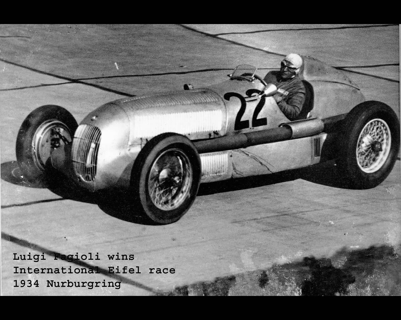 Wallpapers : Mercedes Silver Arrow W25 1934 1936 (click on image to ...