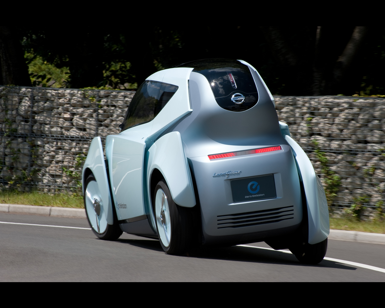 Nissan Land Glider Electric Urban Mobility Concept 2009