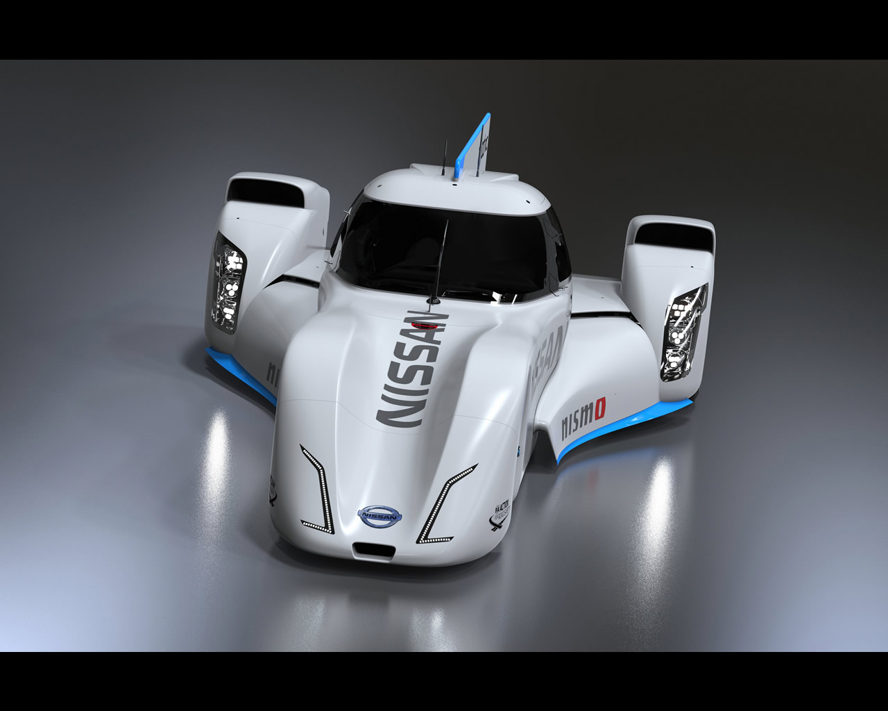 NISSAN NISMO ZEOD RC Hybrid Electric Racing Car Le Mans 2014