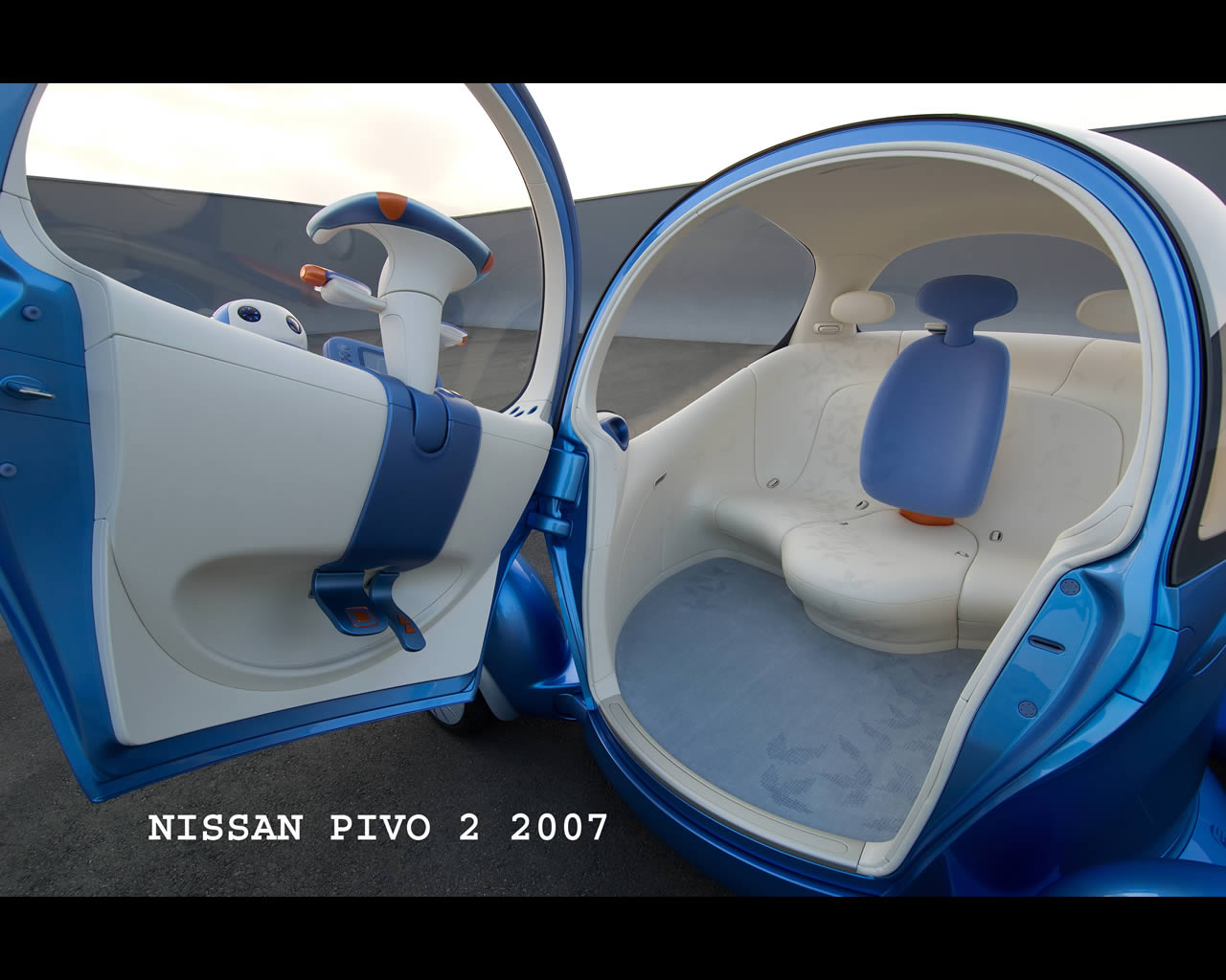 Nissan pivo 3 electric urban commuter concept 2011 nissan pivo 2 electric urban commuter concept vanachro Gallery