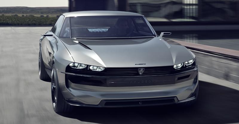 Peugeot E Legend Autonomous Electric Concept 2018