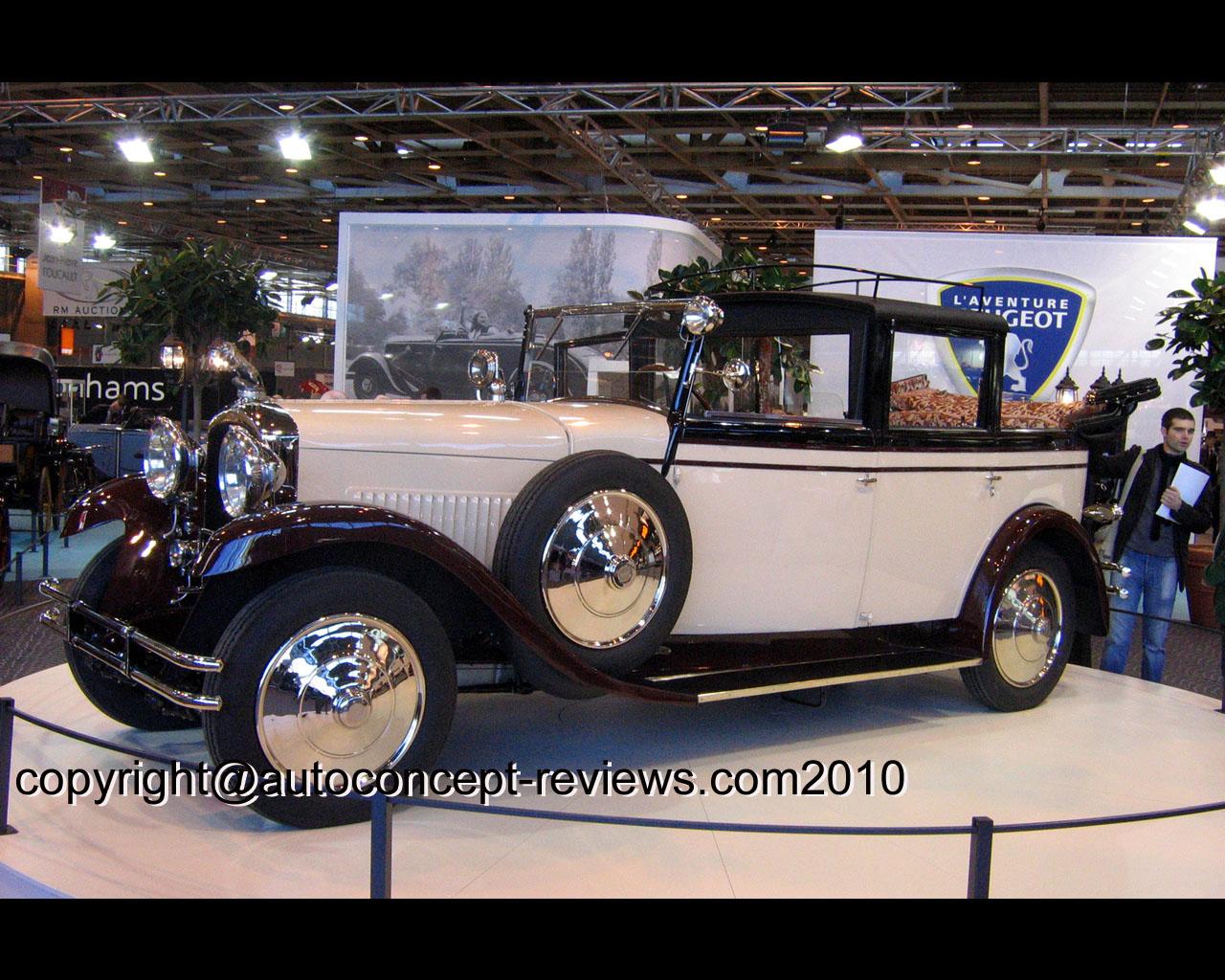 Peugeot Landaulet type 184