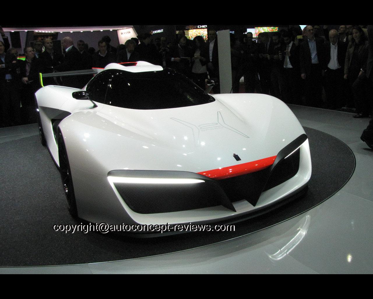 Pininfarina H2 Speed Concept: Pininfarina H2 Speed Concept Car