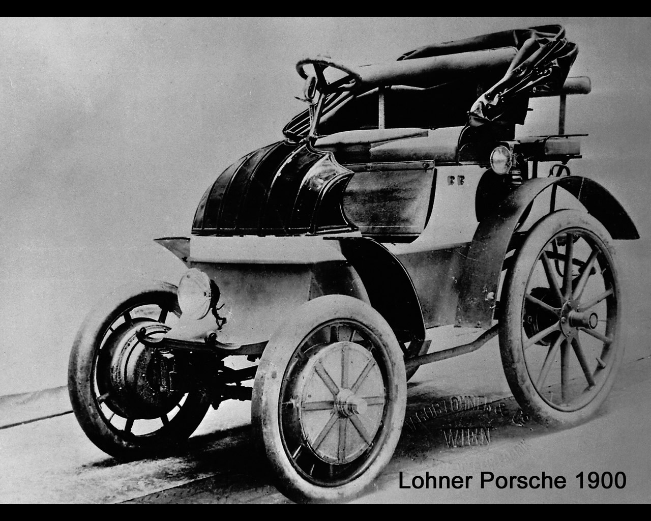 Lohner Porsche Electric 1900 1901 With Hub Wheel Drive