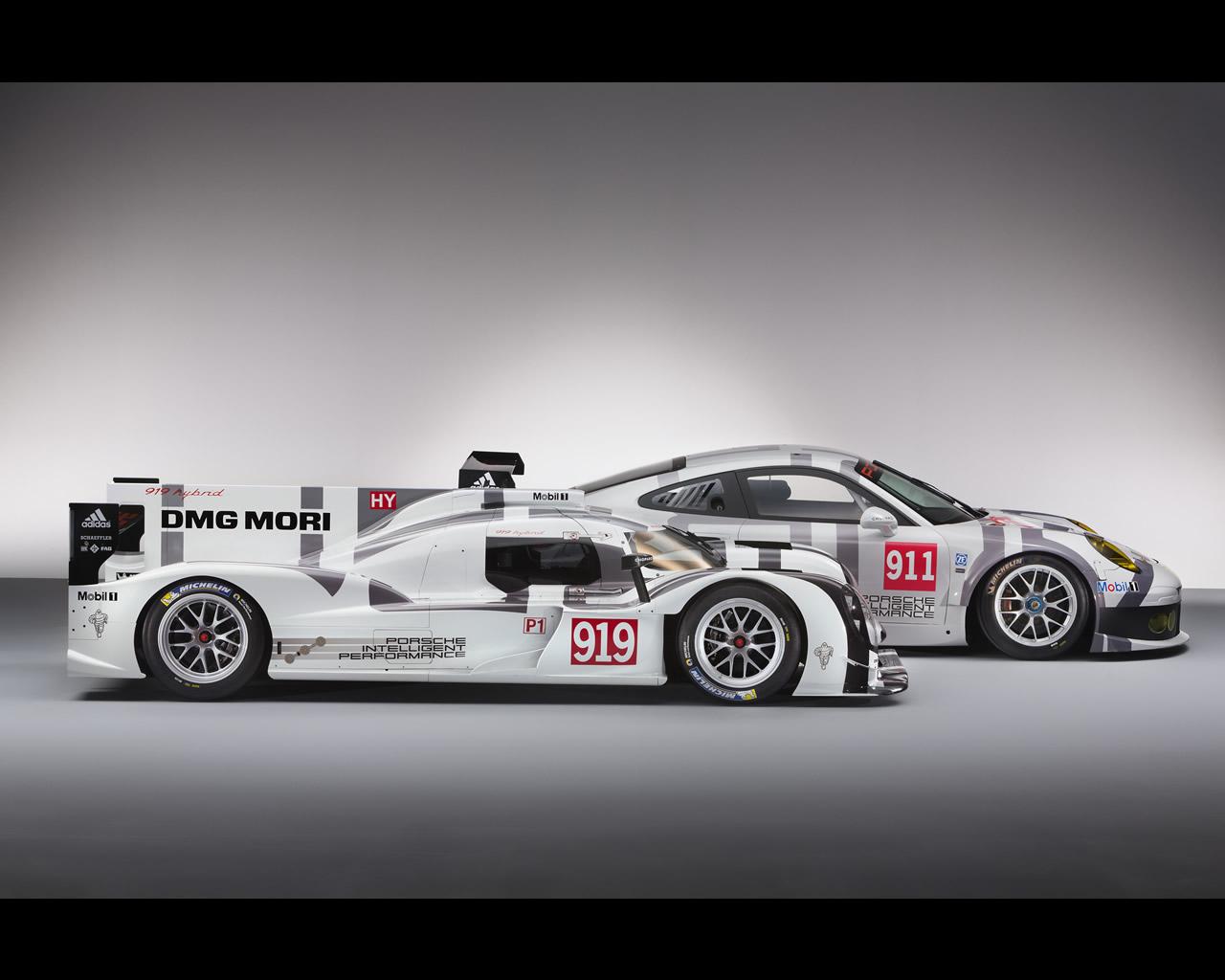 Porsche 919 Hybrid LMP1-H WEC Le Mans 2014