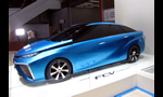 Toyota FCV Hydrogen Fuel Cell Electric Concept and Interview Y. Tanaka