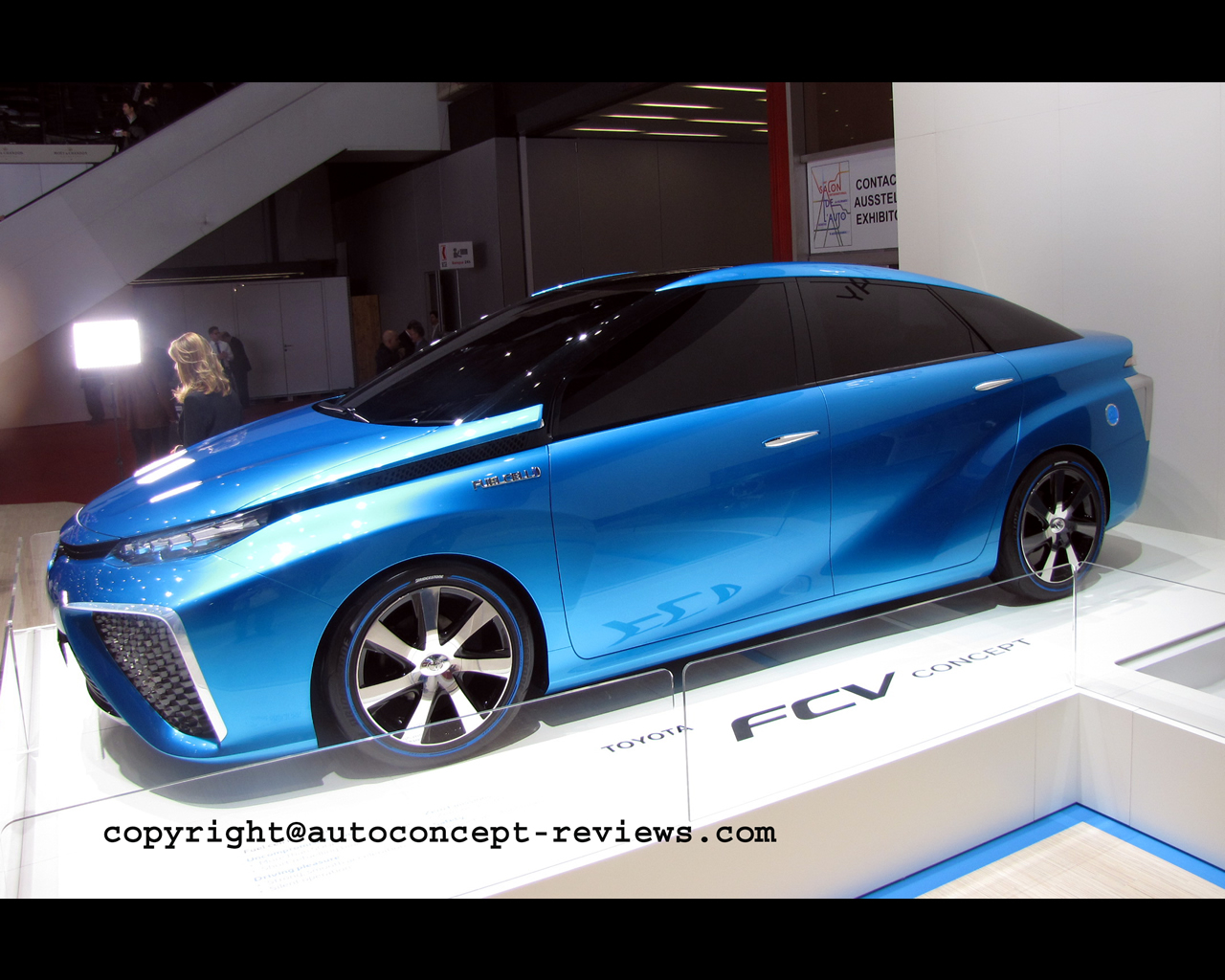 wallpaper of the Toyota FCV Hydrogen Fuel Cell Electric Concept 2014 ...