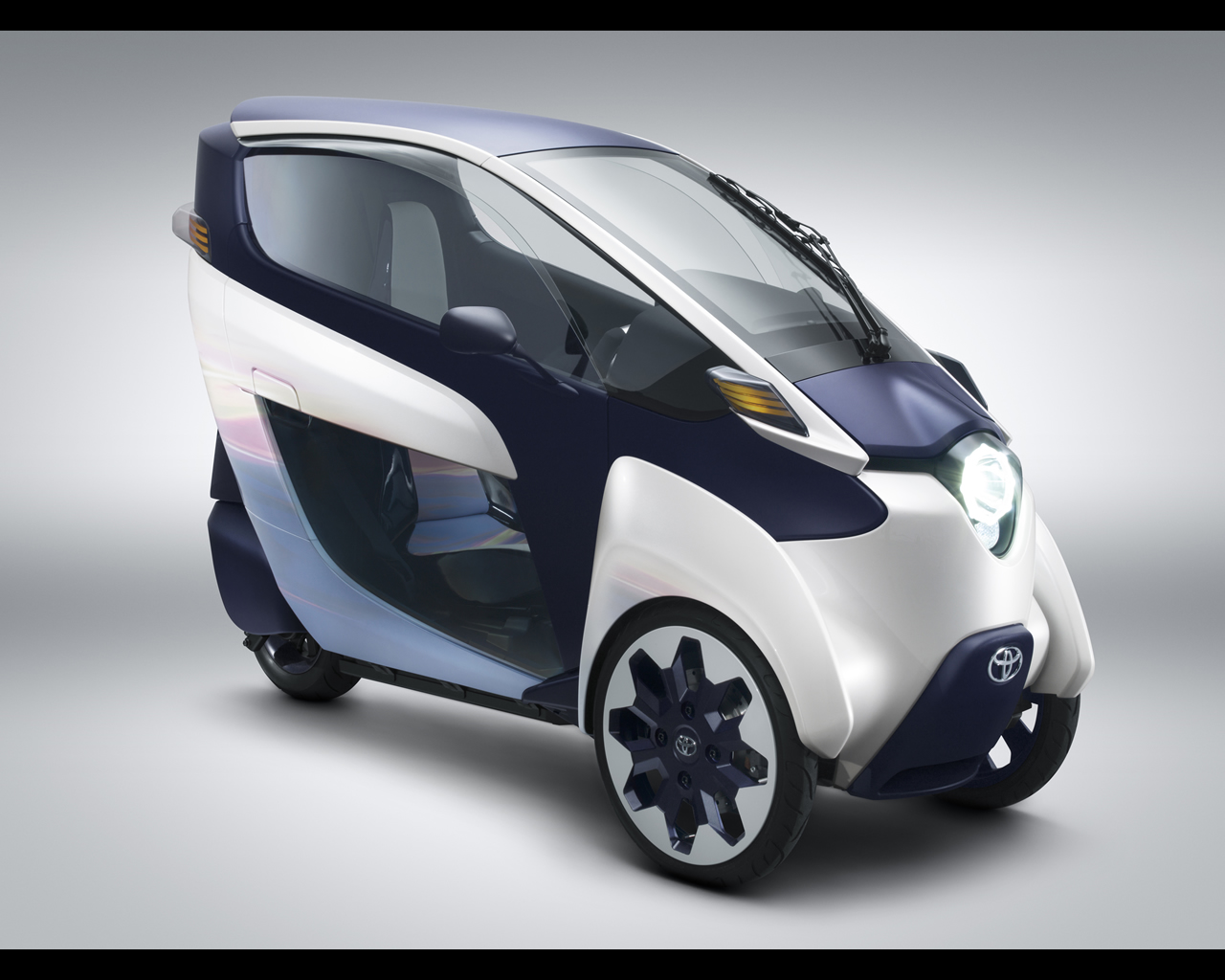 Toyota iRoad Electric Personal Mobility Vehicle Concept 2013