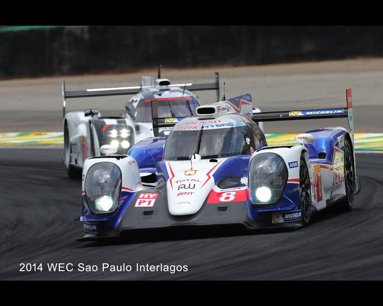 Toyota TS040 Hybrid LMP1 - FIA World Endurance Championship 2014 - 24 ...