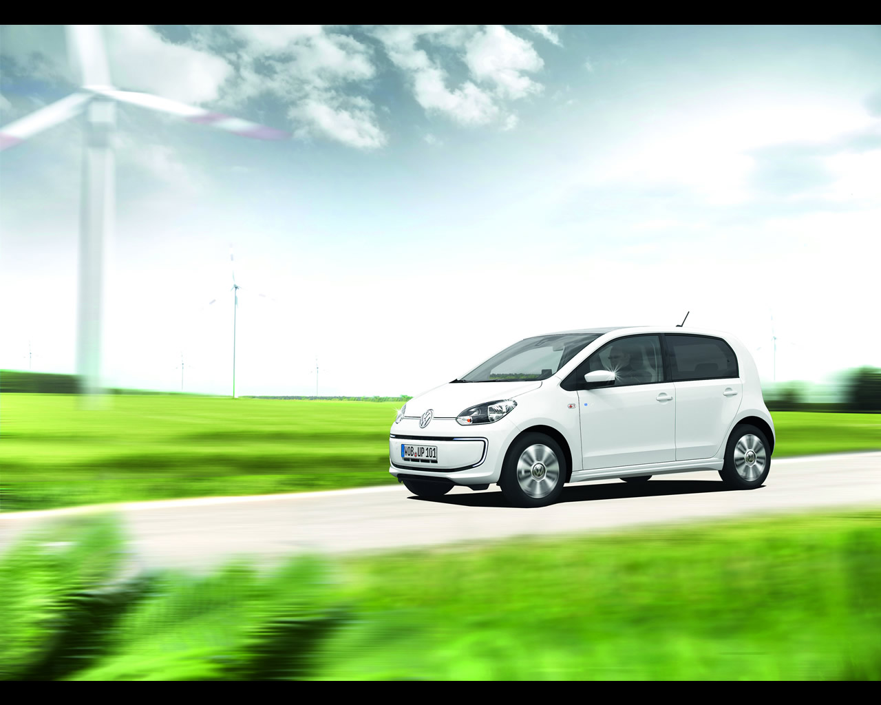 Volkswagen e-Golf and e-Up! Electric Cars 2013