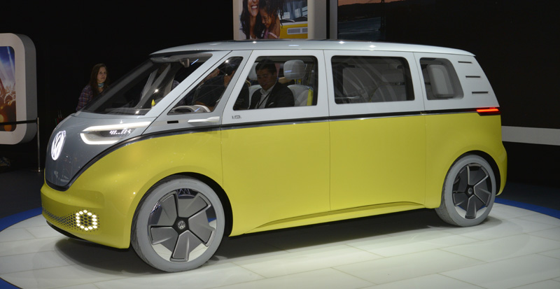 Volkswagen Id Buzz Pure Electric Concept 2017