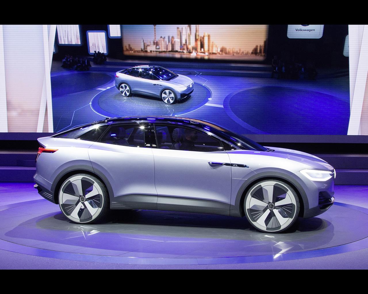 volkswagen i d crozz electric crossover concept for 2020. Black Bedroom Furniture Sets. Home Design Ideas