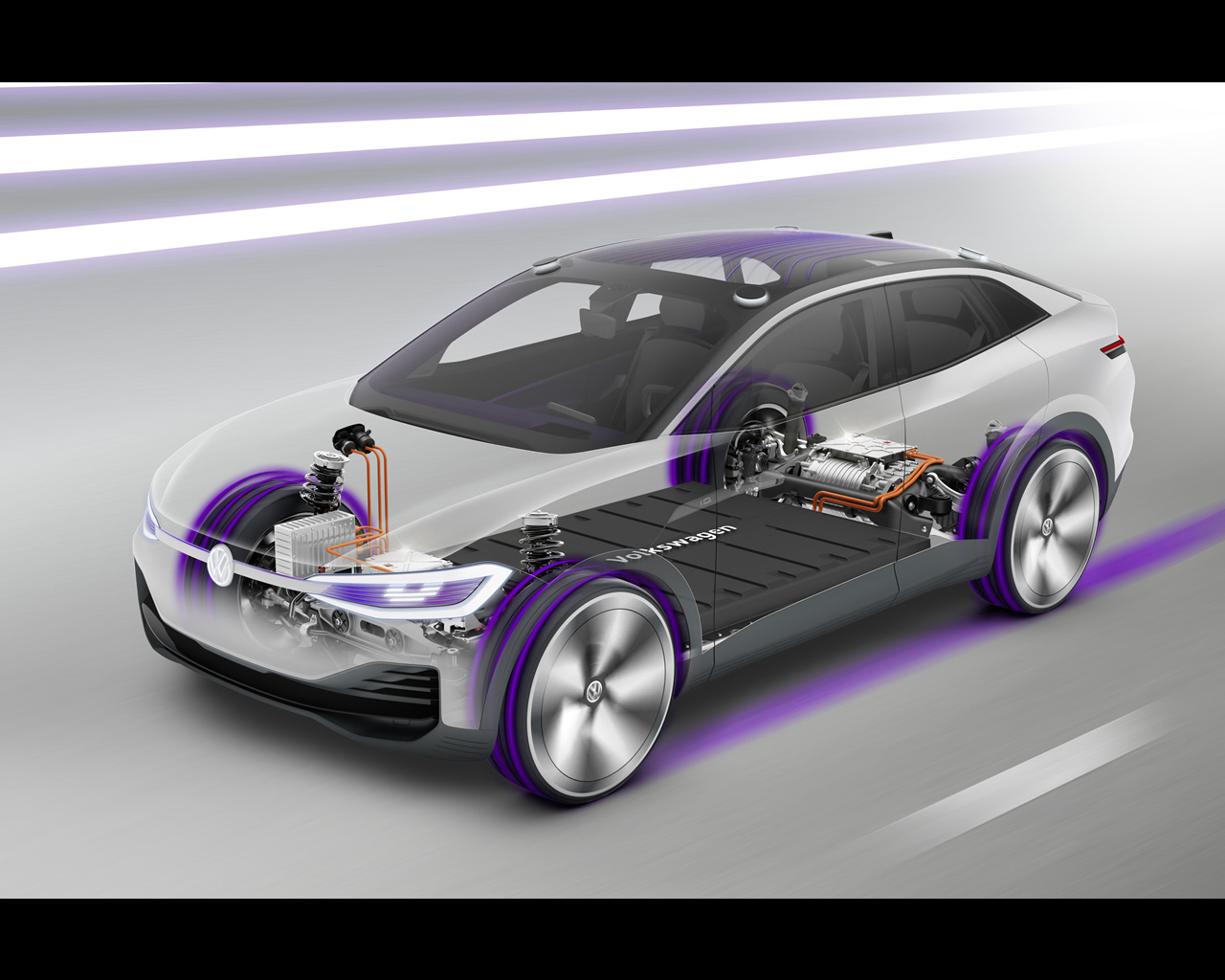 Volkswagen I D Crozz Electric Crossover Concept For 2020