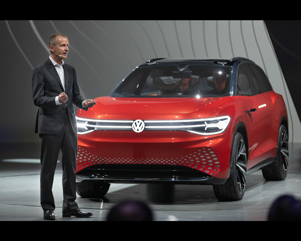 volkswagen i d  roomzz electric suv concept 2019