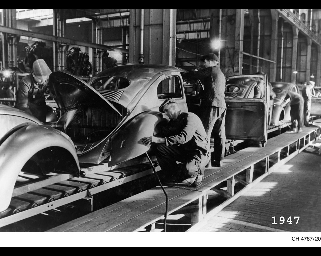 Beetle Production Wolfsburg Copy