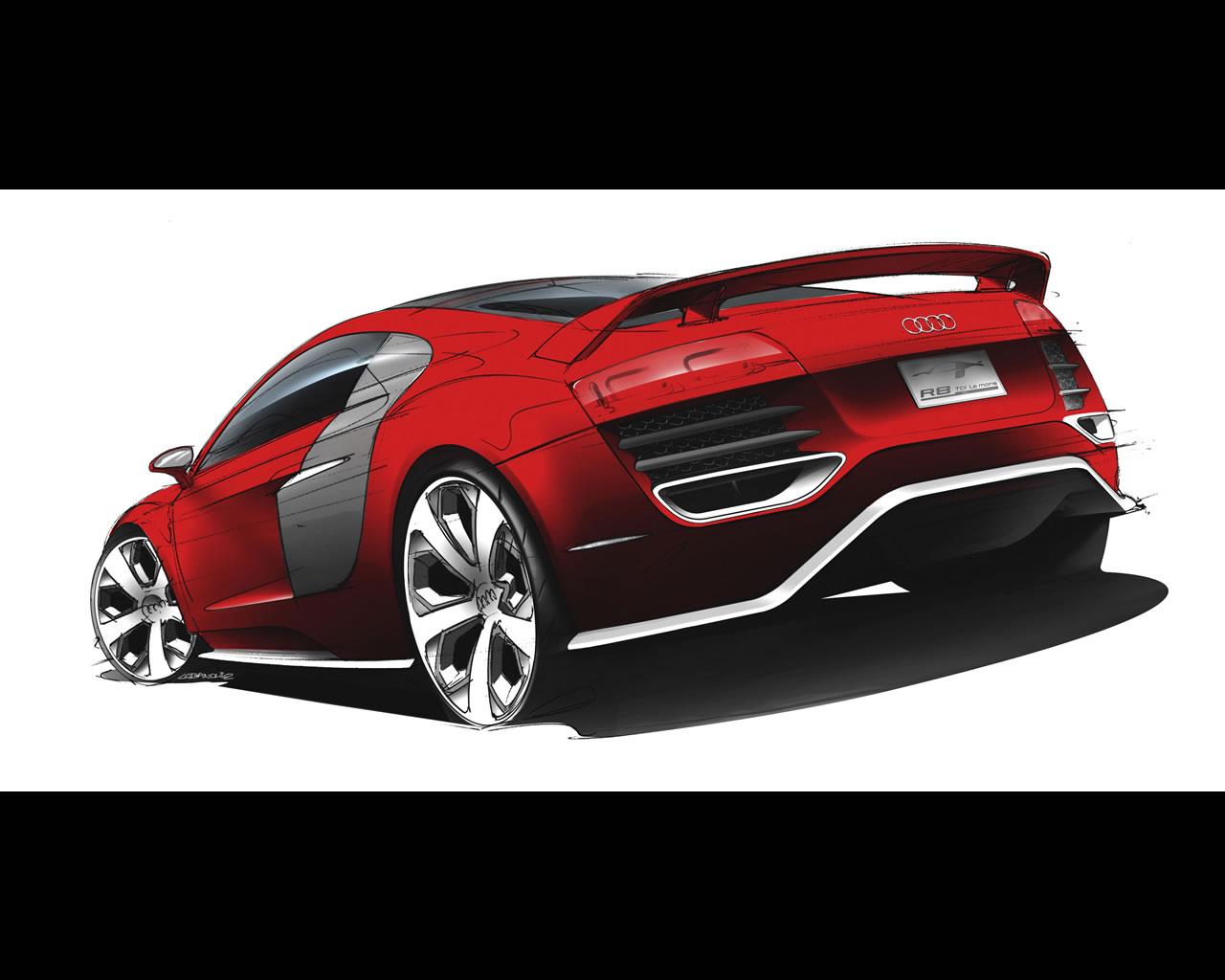 Audi R8 Tdi Le Mans Concept Audi R8 Tdi Le Mans Concept