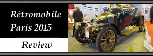 - Paris - Rétromobile 2015 Historic and Classic Cars Show